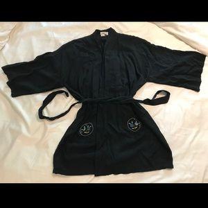 Lightweight Black Robe/Kimono